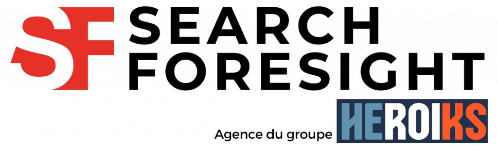 Logo de Search Foresight, agence du groupe HEROIKS